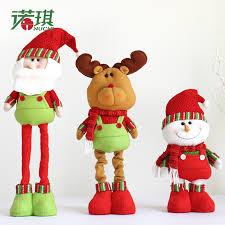 1 pcs doll 80cm retractable snowman ornament
