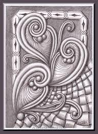 zentangle pattern trio 193 wochenaufgabe der diva gastaufgabe von holly atwater thx
