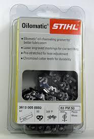amazon com 63 pm 50 stihl 14 picco micro chainsaw chain 50