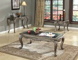 Granite Top Bedroom Set by Chantelle 6 Piece Bedroom Set In Antique Silver Finish By Acme 20540