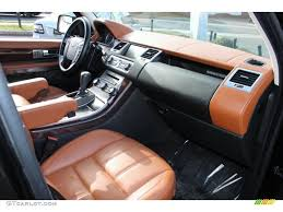 tan land rover premium tan tan stitching interior 2010 land rover range rover