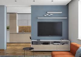 cuisine bleu ciel cuisine moderne bois massif 14 couleur gris taupe dans le salon
