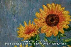 bouquet of sunflowers reproduction painting claude monet bouquet of sunflowers