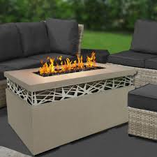 Rectangle Fire Pit Table 9 Fire Pit Tables For The Outdoor Area Cute Furniture