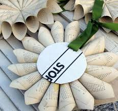 Decorative Crafts For Home Best 25 Paper Wreaths Ideas On Pinterest Flowers With Paper