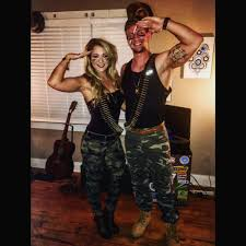 deguisement de couple halloween gi joe u0026 gi jane couple costumes perfect for halloween