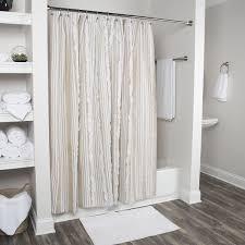 Shop Arden Loft Geometric Natural White 72 x 72inch Shower Curtains