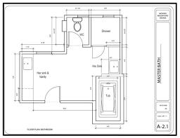 Floor Plans For Small Bathrooms Dazzling Small Bathroom Remodel Floor Plans Using Cream Travertine