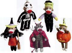 sock monkey ornaments need these for steve s