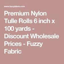 wholesale tulle 6 inch ivory premium tulle 100 yards http www fuzzyfabric