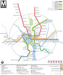 Metro Washington Dc Map by Washington Metro Map Transit Oriented