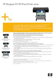 download free pdf for hp designjet z3100 printer manual