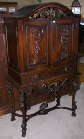 Antique Curio Cabinet With Desk China Cabinet Mahogany China Cabinets Antique China Cabinets