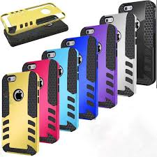 cool rocket 2 in 1 hybrid rugged case cover for iphone 5 6 plus