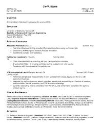 Sample Resume Engineering by Petroleum Engineering Resume Http Resumesdesign Com Petroleum