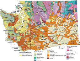 Bellingham Washington Map by Geologic Provinces Of Washington Wa Dnr