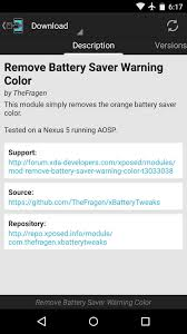 remove bar android how to remove the orange bars in battery saver mode on android