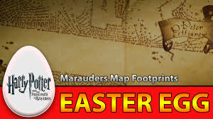 easter facts trivia harry potter and the prisoner of azkaban marauders map