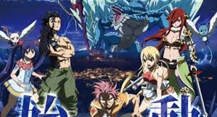 fairy tail fairy tail dragon cry film debuts new key visual
