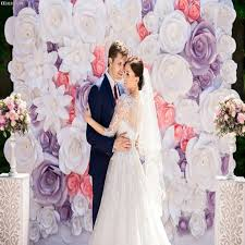 wedding backdrop philippines 63pcs set cardboard paper flowers for fall wall backdrop