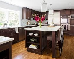 25 all time favorite transitional kitchen with brown cabinets
