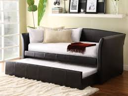 sofa 19 wonderful pottery barn leather sofa bed sleeper beds