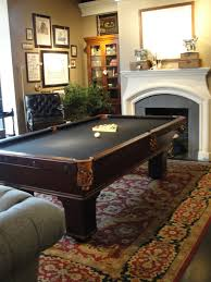 room design ideas for men with elegant pool dining table and