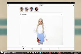 Instagram For Pc Instagram Officially Jumps From Mobile To Windows 10 Pc Windows