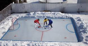 Backyard Ice Skating Rink Backyard Ice Rink Kits Home Interior Ekterior Ideas