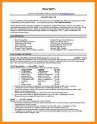 Sample Real Estate Resume 100 Realtor Resume Examples Good Entry Level Resume Examples