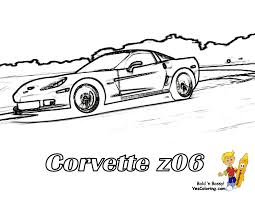 ferrari sketch side view late seventies corvette stingray coloring pages coloring pages