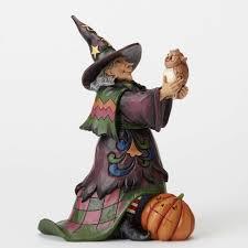 halloween figurines lori mitchell jim shore collectibles wooden duck shoppe