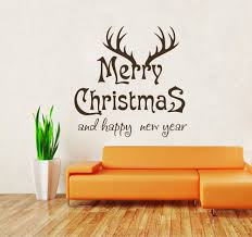 compare prices on black and white tree wall decals online merry christmas and happy new year vinyl wall stickers black white red baby wall decals antlers