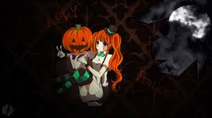 happy halloween artwork happy halloween anime wallpaper by siimeo on deviantart