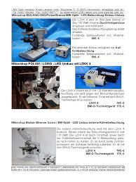 B Oausstattung Pzo Biolar Mikroskope Led