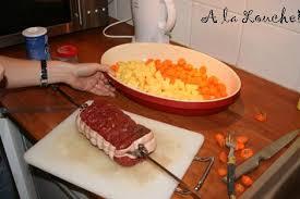 cuisiner un roti de boeuf au four cuire un rôti de boeuf les temps de cuisson des viandes paperblog