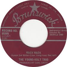 instrumental this little light of mine 45cat the young holt trio wack wack this little light of mine