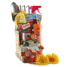 summer gift basket summer gifts baskets green thumb gardening gift basket 911