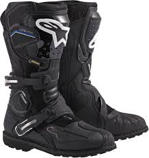 motorbike boots brown alpinestars toucan gore tex adventure touring motorcycle boots black