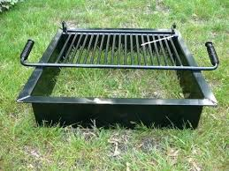 Fire Pit Replacement Parts by Square Grill Insert For Fire Pit Fire Pit Accessories Replacement