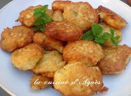 cuisiner la courgette beignets de courgettes la cuisine d agnèsla cuisine d agnès