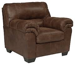 Brown Leather Accent Chair Living Room Chairs Accent Chairs Furniture Homestore