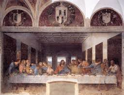 last supper mural wall murals you ll love experts reveal message in da vinci s the last supper artnet news
