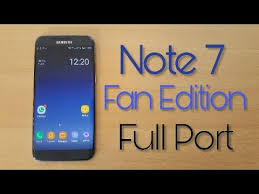 note 7 fan edition galaxy note fan edition port for galaxy s7 edge install review