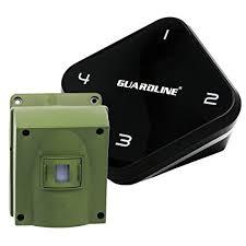 long range motion detector light amazon com 1 4 mile long range wireless driveway alarm top rated