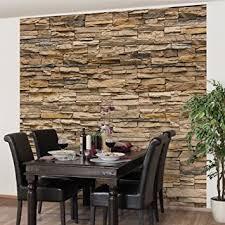 steinwand wohnzimmer baumarkt fototapete steintapete andalusia stonewall vliestapete quadrat