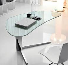 Home Office Glass Desks Furniture Simple And Neat Home Office Decoration Design With Ikea