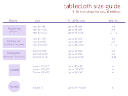 round table cloth dimensions sizing guide petite provence