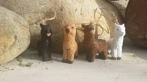 alpaca ornaments rustic carved wooden purely alpaca clothing