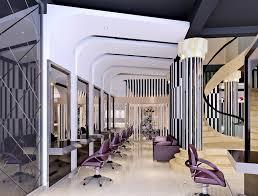 fashion hair salon interior design hair salon interior design red